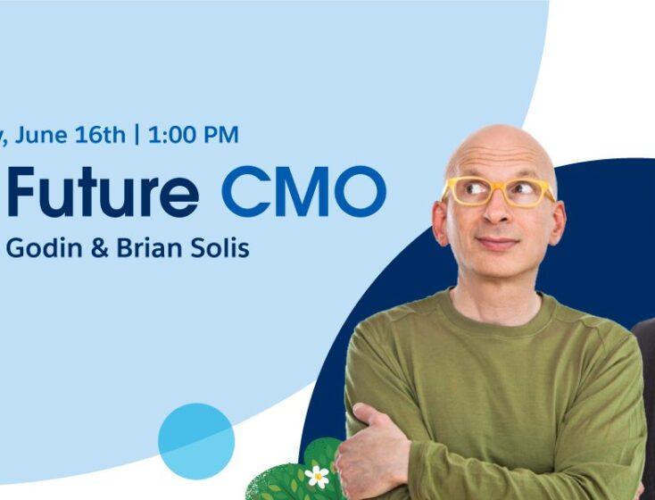 Salesforce Canada Explores the Future CMO with Seth Godin and Brian Solis