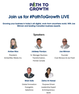 Growing your business in today's all-digital, work-from-anywhere world